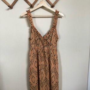 Beautiful Silk Ikat Joie Dress!